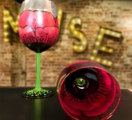 Glassware Painting Event on 02/12 at Muse Paintbar Gaithersburg