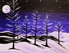 Canvas Painting Class on 01/24 at Muse Paintbar Glastonbury