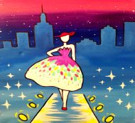 Special Paint & Sip Event on 02/09 at Muse Paintbar NYC - Tribeca