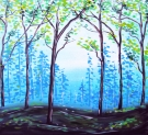 Rolling Forest - Muse Paintbar