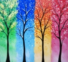 Canvas Painting Class on 01/10 at Muse Paintbar Woodbridge