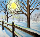 Paint Your Masterpiece on 01/19 at Muse Paintbar NYC - Tribeca