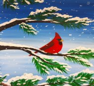 Canvas Painting Class on 01/27 at Muse Paintbar Portland