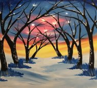 LED Canvas Painting on 12/28 at Muse Paintbar NYC - Tribeca