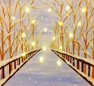 LED Canvas Painting on 01/16 at Muse Paintbar NYC - Tribeca