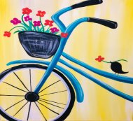 Canvas Painting Class on 04/14 at Muse Paintbar Fairfax (Mosaic)