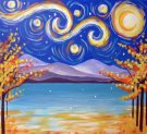 Canvas Painting Class on 11/12 at Muse Paintbar Port Jefferson