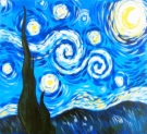 Canvas Painting Class on 06/17 at Muse Paintbar Patriot Place