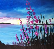 Canvas Painting Class on 07/25 at Muse Paintbar Portland