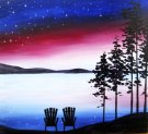Canvas Painting Class on 08/15 at Muse Paintbar Virginia Beach