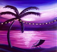 LED Canvas Painting on 08/14 at Muse Paintbar Great Neck