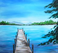 Canvas Painting Class on 04/20 at Muse Paintbar Woodbury