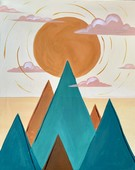 Canvas Painting Class on 09/13 at Muse Paintbar Ridge Hill