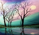Canvas Painting Class on 04/10 at Muse Paintbar Richmond