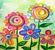 Kids Painting Class on 03/30 at Muse Paintbar Norwalk