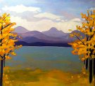 Canvas Painting Class on 11/26 at Muse Paintbar Assembly Row