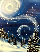 Canvas Painting Class on 01/10 at Muse Paintbar Norwalk