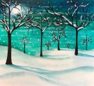 Canvas Painting Class on 02/15 at Muse Paintbar Richmond