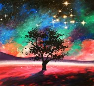 LED Canvas Painting on 10/20 at Muse Paintbar Virginia Beach
