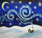 Canvas Painting Class on 12/23 at Muse Paintbar Woodbridge