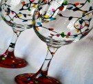 Glassware Painting Event on 11/28 at Muse Paintbar Lynnfield