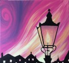 Canvas Painting Class on 11/22 at Muse Paintbar Fairfax (Mosaic)