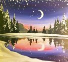 Canvas Painting Class on 01/22 at Muse Paintbar NYC - Tribeca
