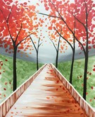 Canvas Painting Class on 11/10 at Muse Paintbar White Plains