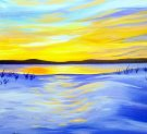 Canvas Painting Class on 02/25 at Muse Paintbar Annapolis