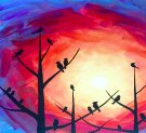 Canvas Painting Class on 11/18 at Muse Paintbar NYC - Tribeca