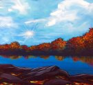 Canvas Painting Class on 11/20 at Muse Paintbar Fairfax (Mosaic)