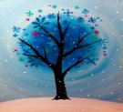 The Winter Tree - Muse Paintbar