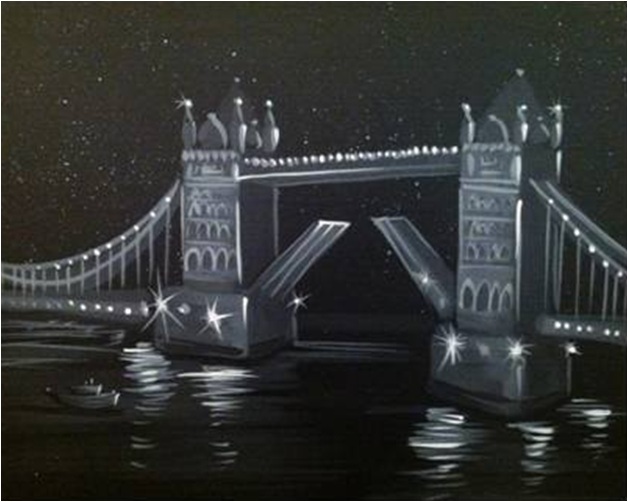 London Tower Bridge- Muse Paintbar
