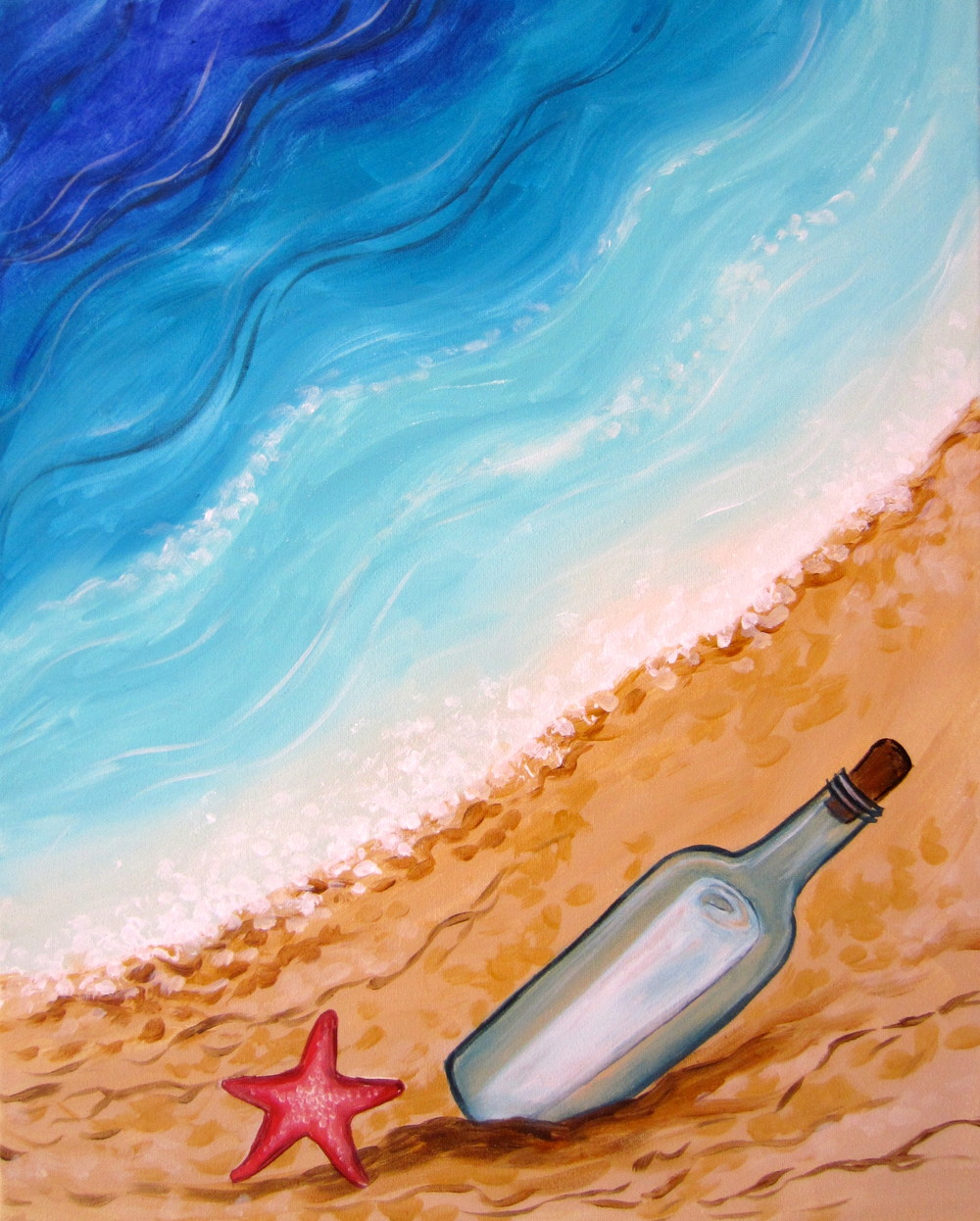 Message in a Bottle- Muse Paintbar