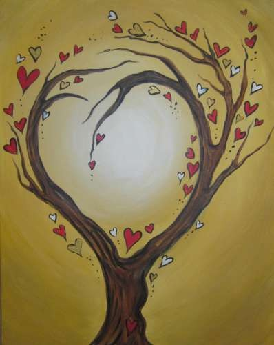 Love Tree- Muse Paintbar