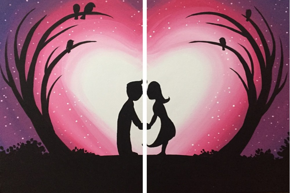 First Kiss- Muse Paintbar