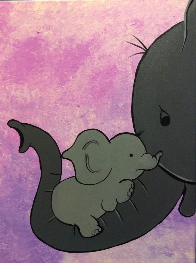 A Mother's Love- Muse Paintbar