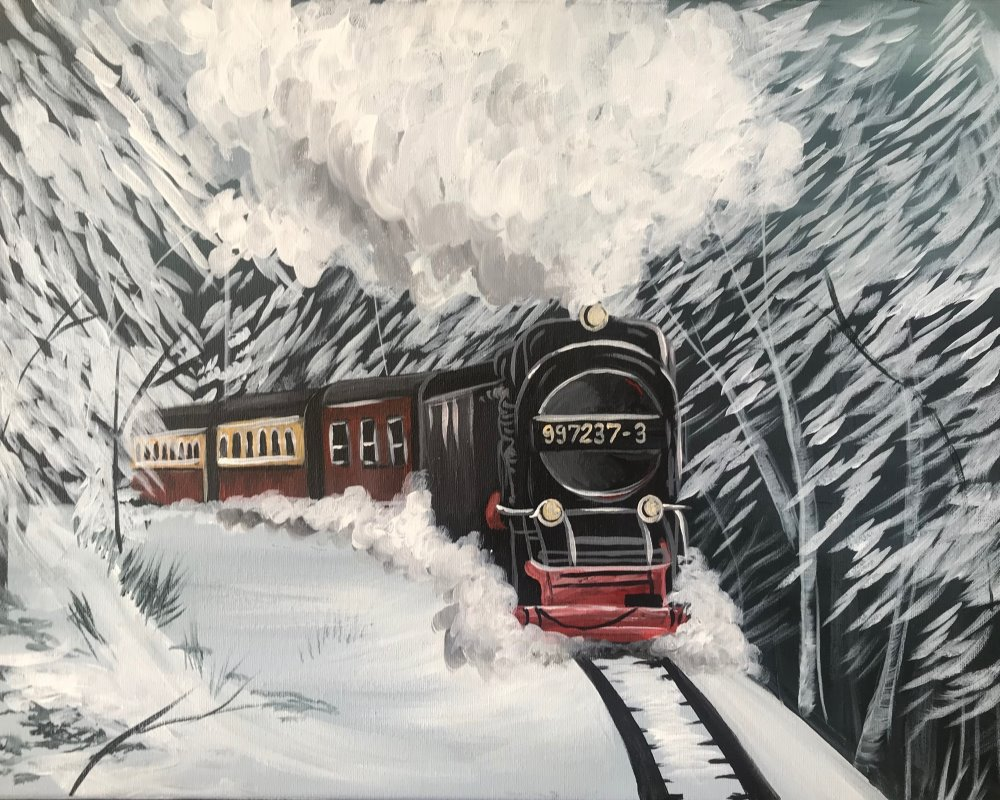 Arctic Express- Muse Paintbar
