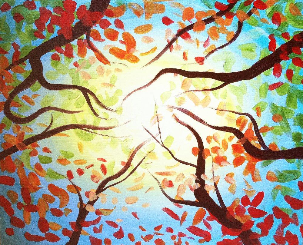 Autumn Glow- Muse Paintbar