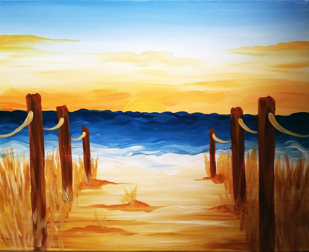 Beach Path- Muse Paintbar