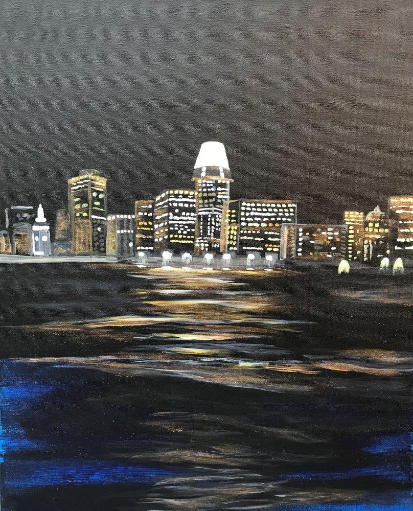 City Lights- Muse Paintbar