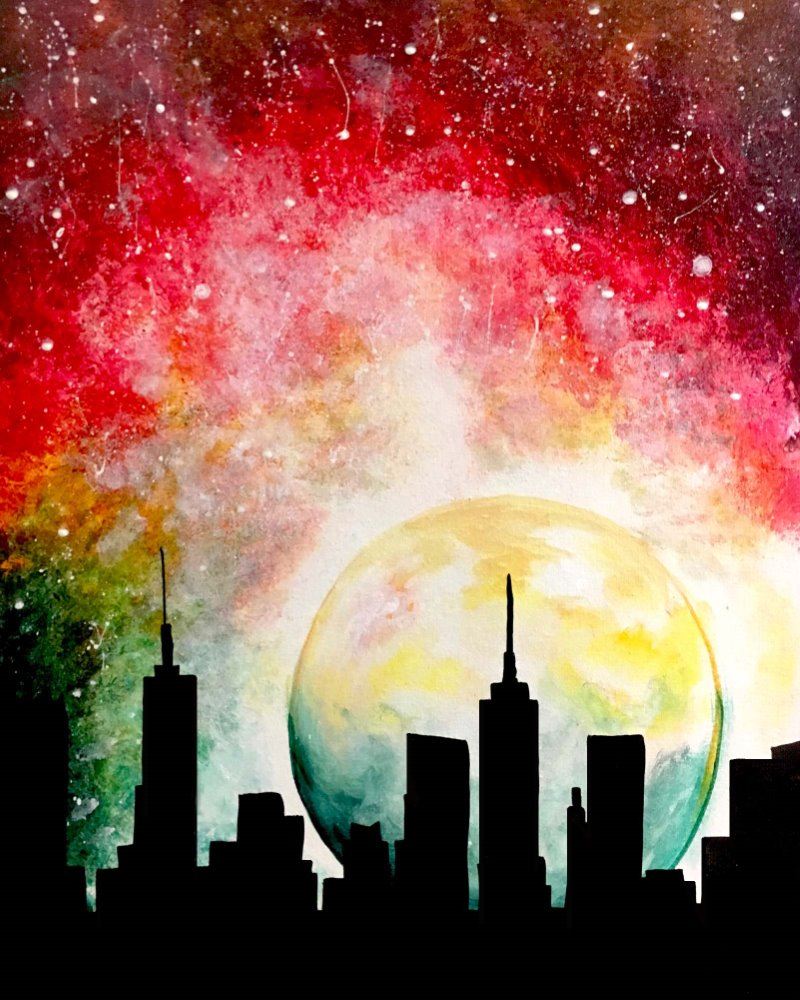 City Moon- Muse Paintbar