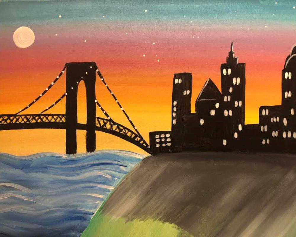 City Twilight- Muse Paintbar