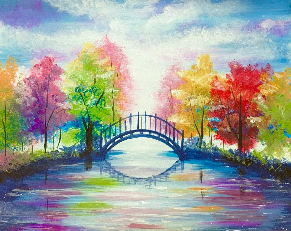 Colorful Bridge- Muse Paintbar