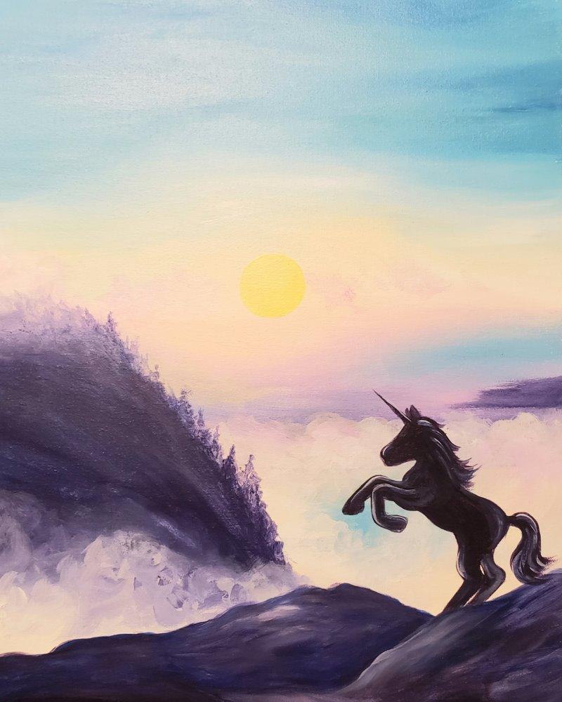 Dawn Unicorn- Muse Paintbar