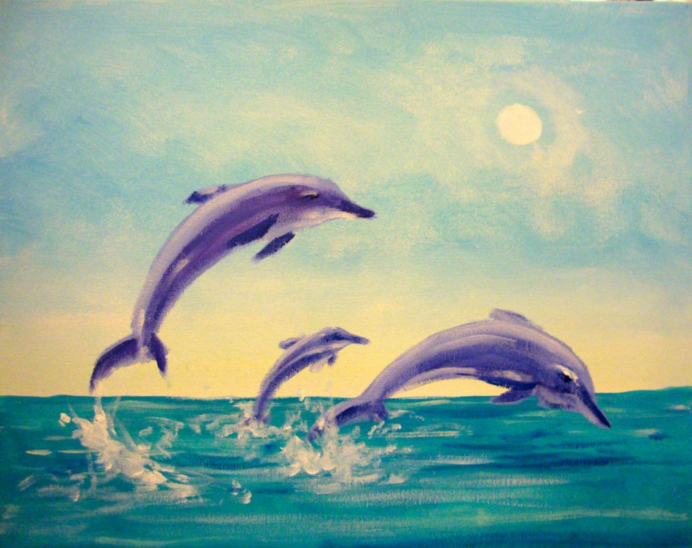 Dolphins- Muse Paintbar