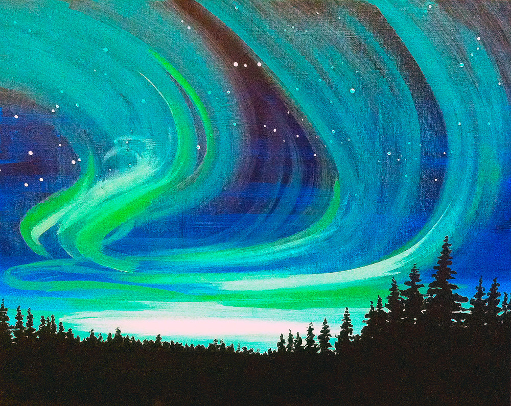 Emerald Skies- Muse Paintbar