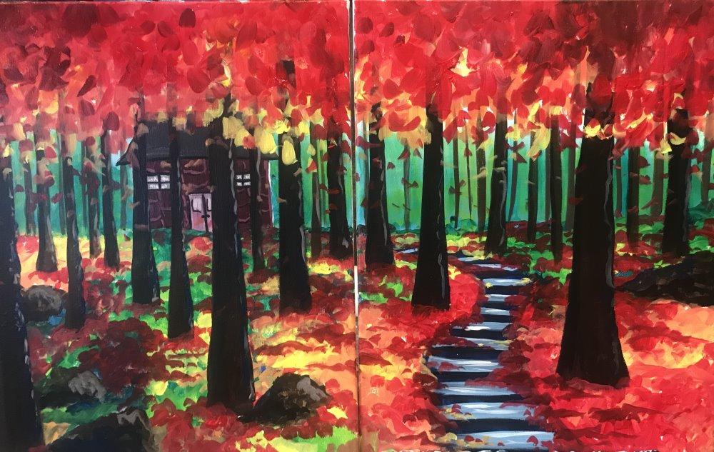 Fall Getaway - Muse Paintbar