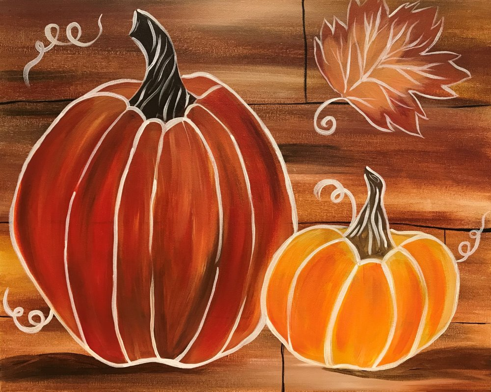 Fall Harvest- Muse Paintbar