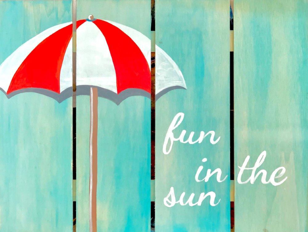 Fun in the Sun- Muse Paintbar